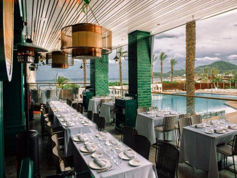 Restaurantes en playa den Bossa