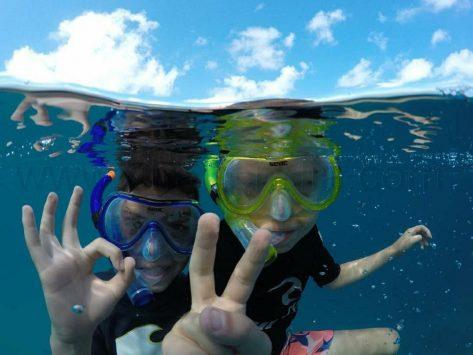 snorkel en barco de alquiler Ibiza