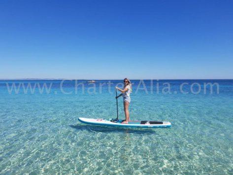 En esta imagen sin filtros se pueden apreciar la increíble transparencia de las aguas de Formentera