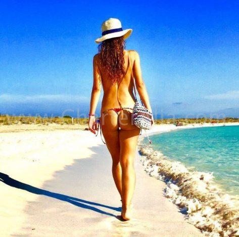 La playa de Espalmador al norte de Formentera es considerada como una de las mejores de España